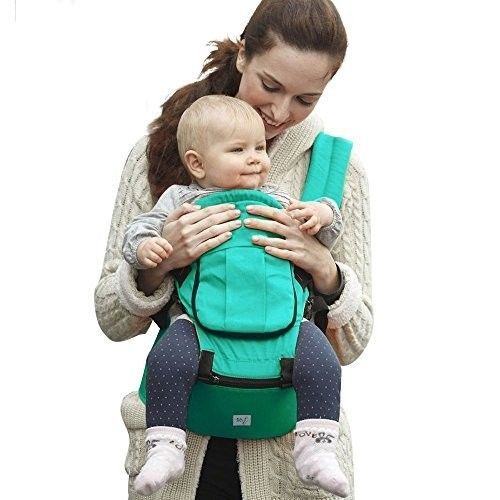 Ergonomic Baby Carrier for Infants and Toddlers Adjustable Waistband Hip Seat #BabySteps
