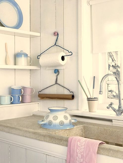 Foto: Kuchyňa a jedáleň vo vidieckom štýle, DIY, malom byte, činžovné, tipy - foto InMyRoom.ru