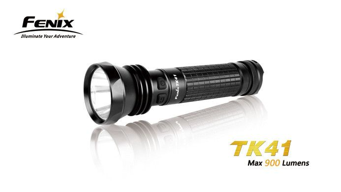Fenix TK41 is a high-intensity multifunctional flashlight powered by AA batteries. The dual switch system in the side can realize a fast selection among four different brightness levels, strobe and SOS functions. Featuring a max 860 lumens output and the over ten days ultra long runtime, the light can meet your illuminating needs unconditionally. #hidcanada