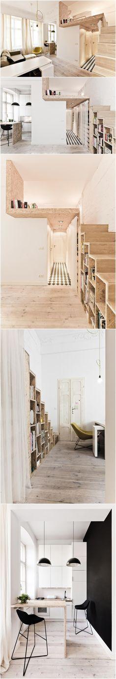 Apartamentos Mini. Porque renunciar al confort y diseño no es necesario