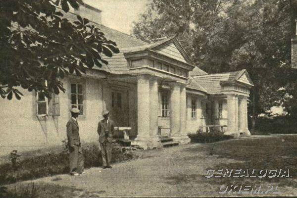 Nowoszyce, dwór Ordów data: 1935 r miejsce: Nowoszyce, PolesieKliknij aby zobaczyć pełny rozmiar