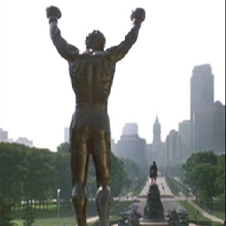 Rocky Statue, South Philly,PA