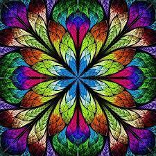 de kunst deed me denken aan vrolijke kleuren en bloemen  kunst 1