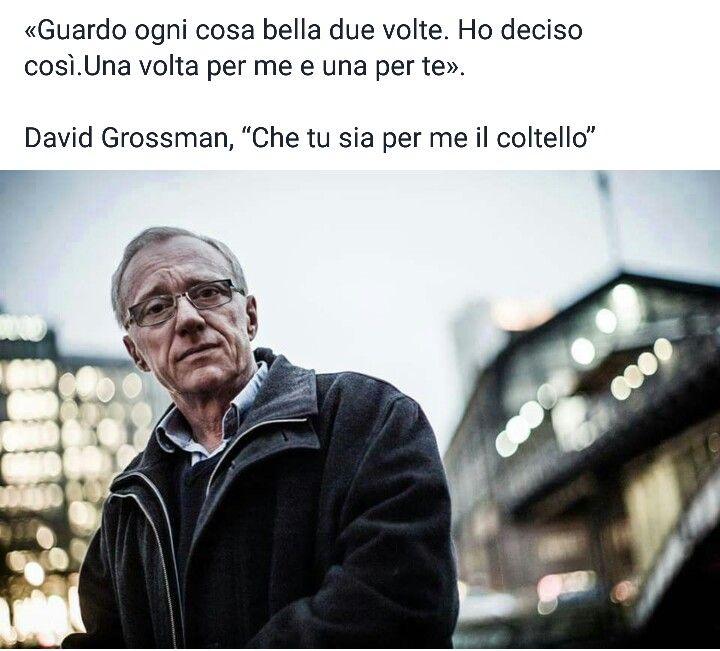 Che tu sia per me il coltello - Grossman