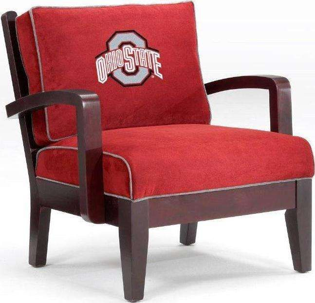 Delicieux Ohio State Counch | Ohio State Buckeyes Owners Chair By Home Team  Distributors   NCAA