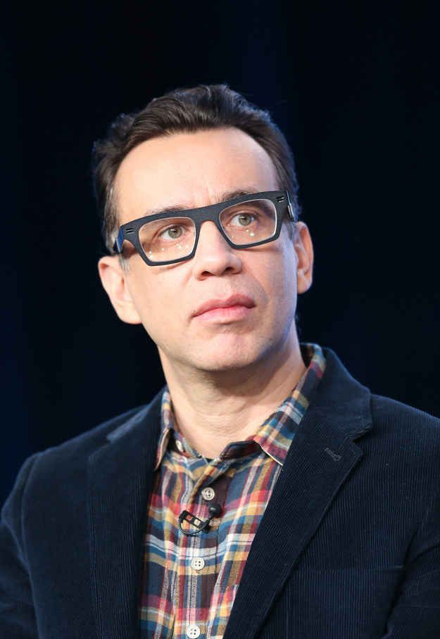 Fred Armisen. Something about him! Plus he's hilarious.