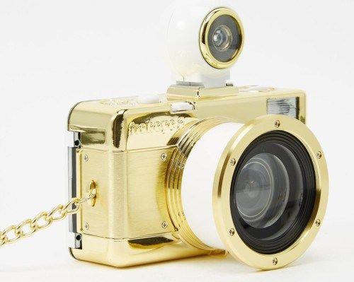 Lomography Fisheye 2 Camera σε χρυσό χρώμα