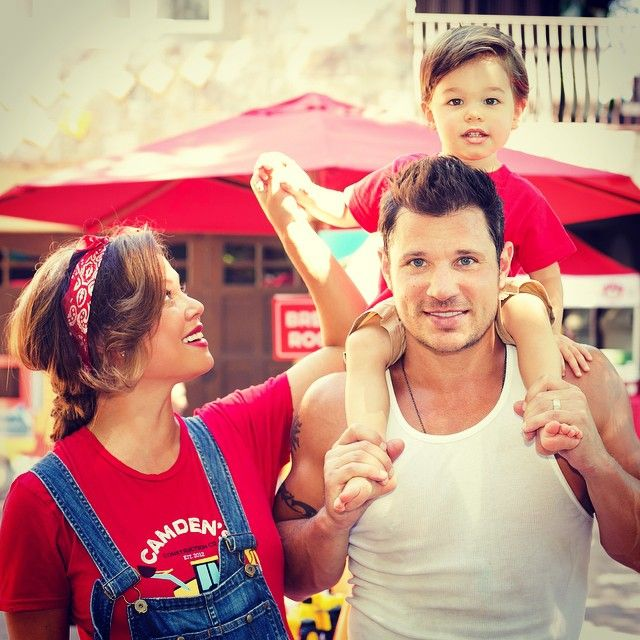 Pin for Later: 21 Celebrity Dads Who Are Nearly Identical to Their Sons Nick Lachey and Camden Lachey