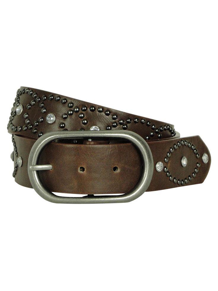 Style & Co. Women's Rhinestone and Studded Belt