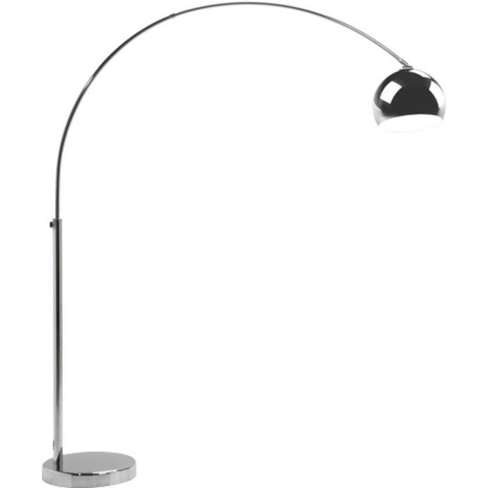 Floor Lamp Lounge Chrome Small Deal Eco - KARE Design