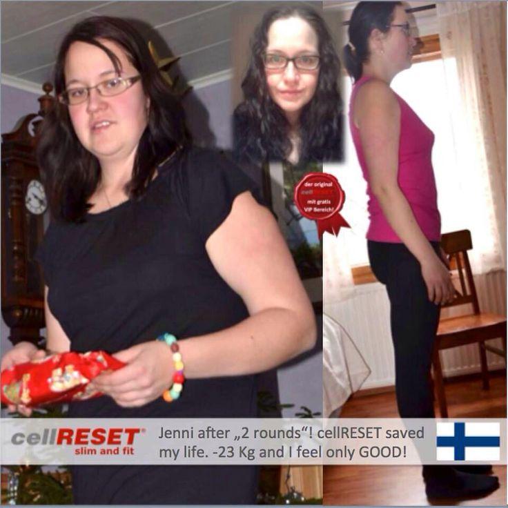 Valmennettavani Jenni, jonka elämä mullistui cellRESETillä. Pirteämpi, terveempi ja samalla myös hoikempi elämä.. #cellRESET Http://www.zaida.net