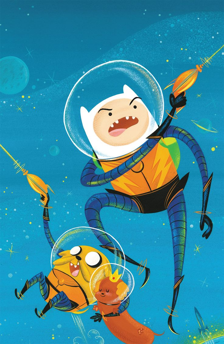 Adventure Time #3 SciFi cover variant