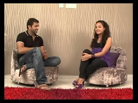 Jeyam Ravi with our Vj in Exclusive Interview