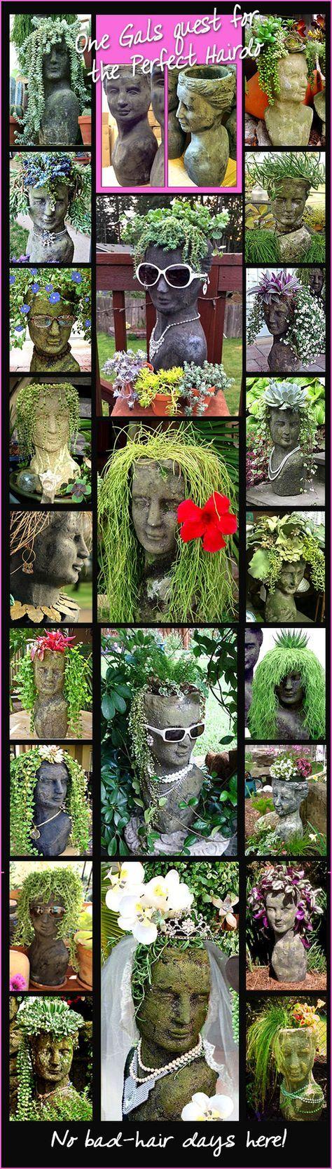 25 Best Ideas About Stone Planters On Pinterest Dremel