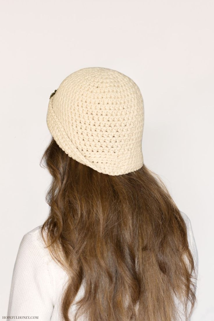 1920 S Great Gatsby Inspired Cloche Hat Crochet Pattern