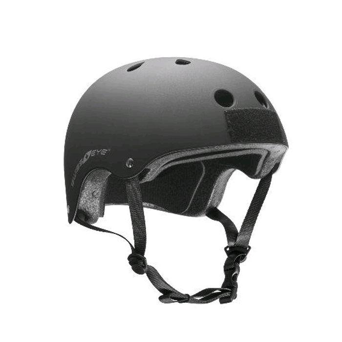 Swiss Eye Tactical Trainingshelm in mat zwart - Klittenband op de voor-en achterkant van de helm - Verstelbare keel-/kinband - Gewicht: 486 g - Materiaal: ABS / EPS. https://www.urbansurvival.nl/product/helm-action-training/