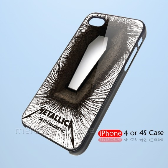 Best Buy Metallica Death Magnetic CD Custom iPhone 4 4S Hard Case Cover