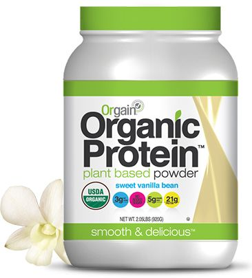 I've been on the protein shake train for a while and Orgain Organic Protein Powder is not only the best tasting powder I've tried, but it's totally natural and organic—just sprouted brown rice, chia and hemp protein!  — Jessie Sebor, Women's Running vice president