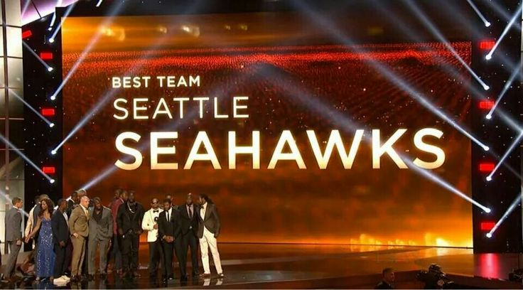 Espy Award for Best team...Seattle Seahawks! !!!