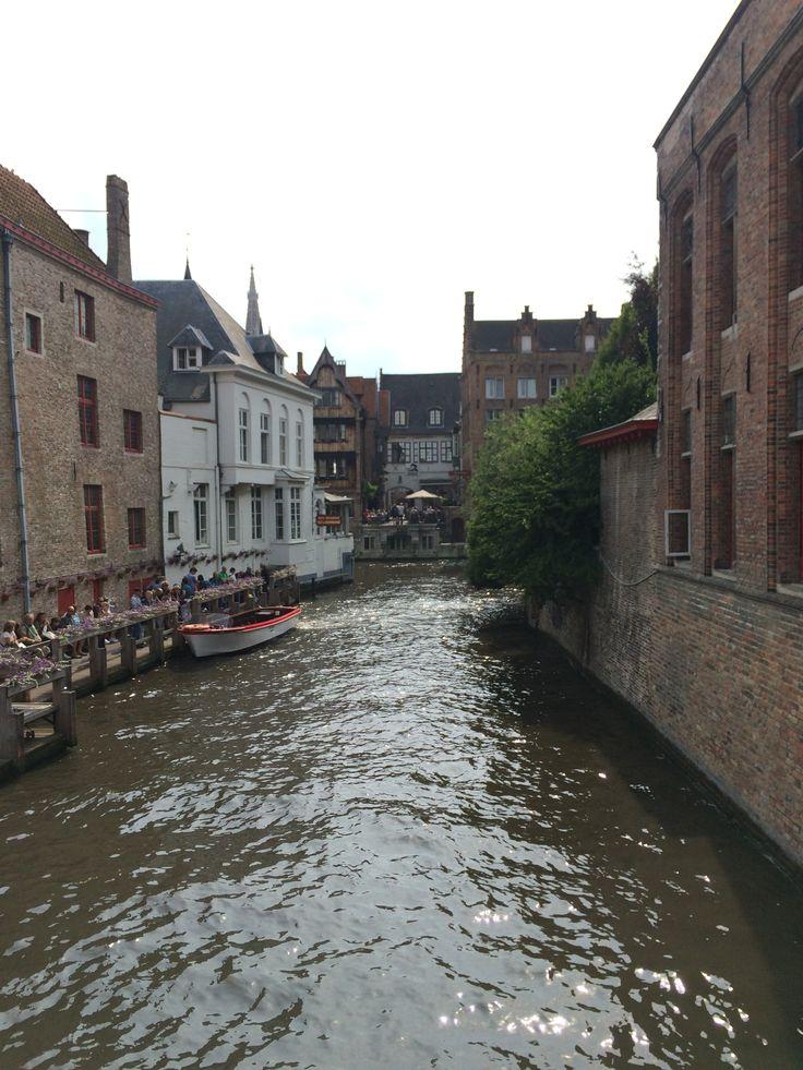 #Bruges #Belgium #boat