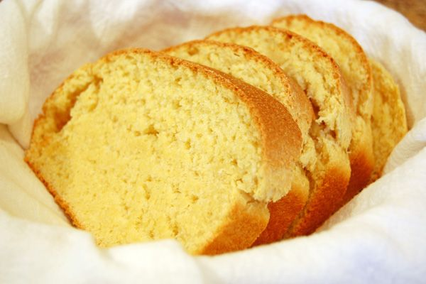 Yeast Cornbread; really hoping this will be like the bread I had in Boston years ago.