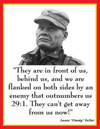 CHESTY PULLER USMC. The person who uploaded this pin met him in 1962 in the Commissary at the Yorktown, VA Naval Weapons Station.