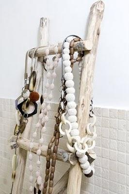jewelry organizer ladderDiy Ideas, Vintage Ladders, Jewelry Display, Diy Jewelry Holders, High Heels, Bedrooms, Bathroom Ladders, Design, Crafts