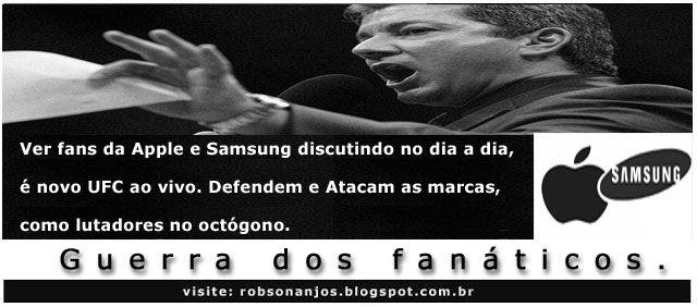 Frase da Semana: Guerra dos fanáticos - Blog do Robson dos Anjos
