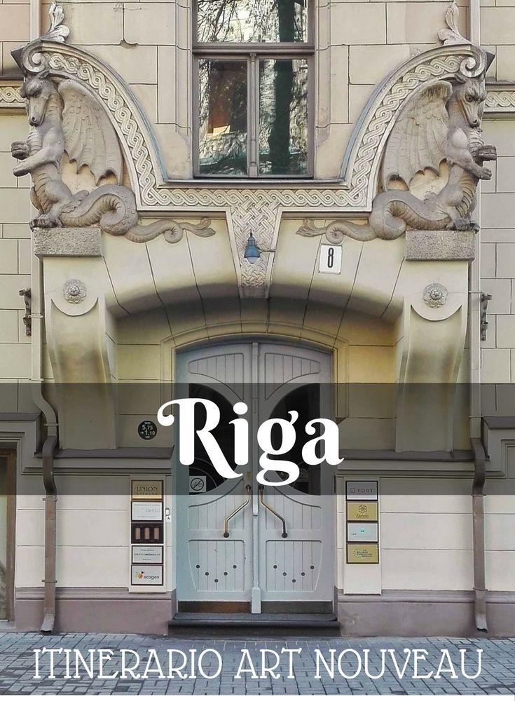 Riga è una delle capitali europee dell'Art Nouveau... vieni a scoprirla in questo itinerario di architettura! http://viaggiverdeacido.com/2016/10/riga-art-nouveau.html