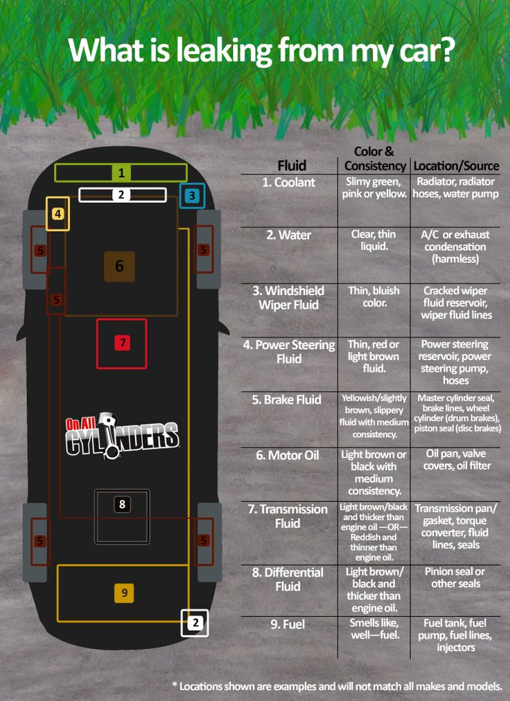 Infographic: A Quick Guide to Identifying the Source of Fluid Leaks - OnAllCylinders