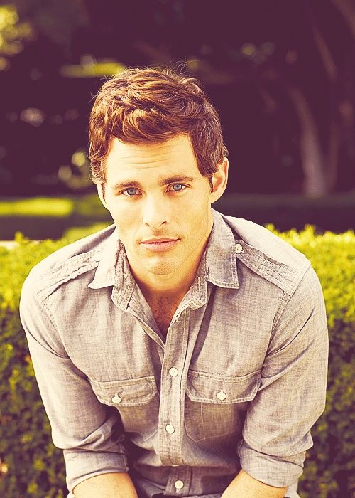 James Marsden- he would be a good contestant to be Christian Grey in the movie wouldn't he?