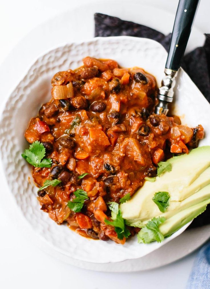 This simple vegetarian chili recipe's incredible flavor comes from basic pantry ingredients, vegetables and spices! Easily made vegan and/or gluten free.