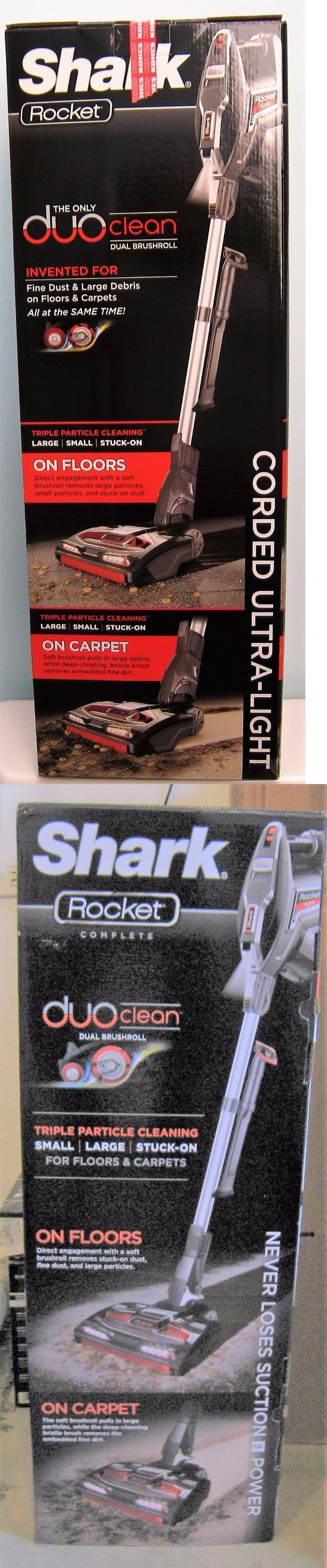 Vacuum Cleaners 20614: Shark Rocket Hv382 Complete True-Pet Ultra-Light With Duoclean Vacuum -> BUY IT NOW ONLY: $222 on eBay!