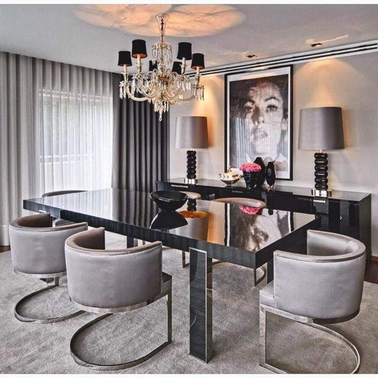 Best 25 dining room modern ideas on pinterest dining area beautiful dining rooms and dining for Modern dining room chairs