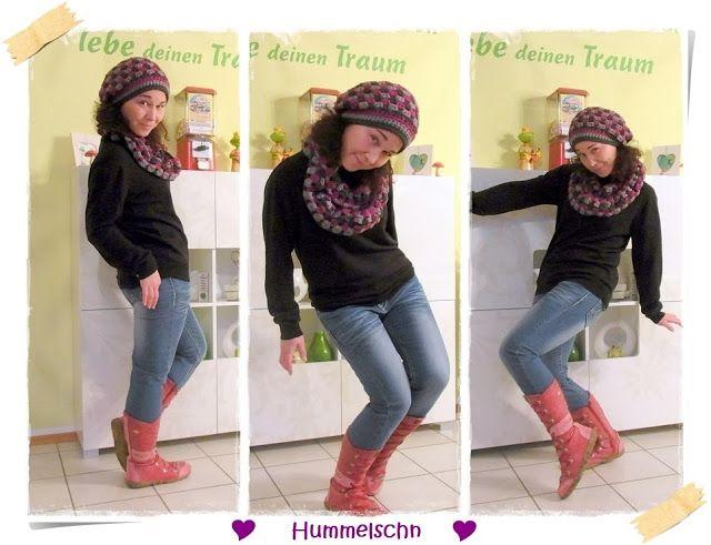 ✂ ♥ Hummelschn ♥ ✂ : ✂ ♥ Häkelbeanie und Loop by #allerlieblichst