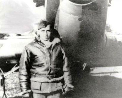 """P/O William D """"Hurricane"""" David of No 87 Squadron RAF poses in front of Hurricane Mk I LK-A at Marcq-en-Barœul in May 1940. Aged 21, he was awarded a DFC and Bar in the space of 5 days, on 31 May and 4 June, reflecting the destruction of at least 11 enemy aircraft within 9 days while covering the retreat of the BEF. As their numbers depleted daily in France, pilots developed mental carapaces around them. David said later, """"I had stopped making friends, because it was so painful to lose…"""