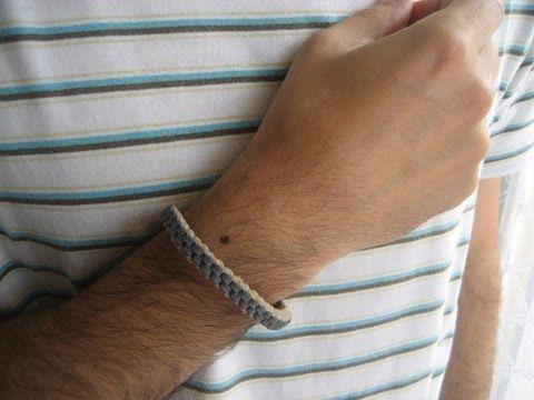 DIY Día del padre: pulsera macramé chico / Father's day: boy's bracelet - YouTube