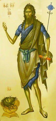Πνευματικοί Λόγοι: Πρόδρομε τοῦ Θεοῦ πρέσβευε ὑπέρ ἠμῶν