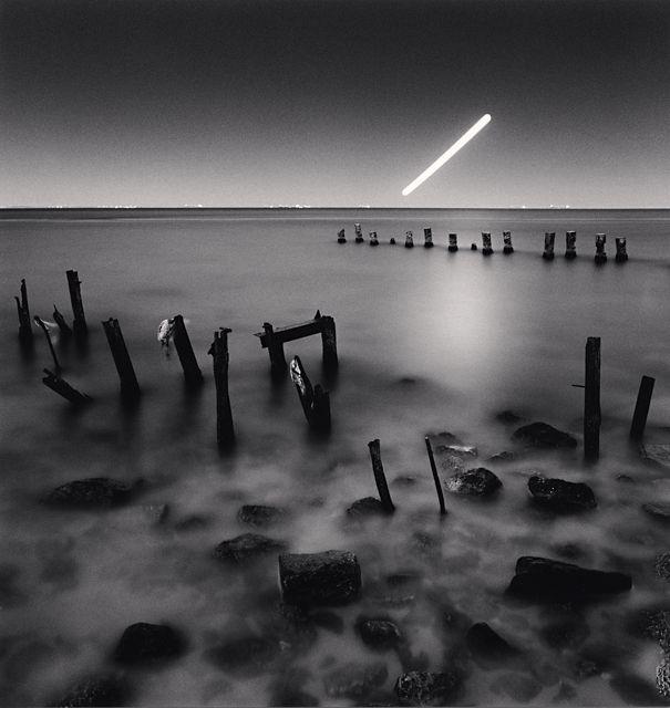 Hunter's Moon over Black Sea, Odessa, Ukraine. 2013