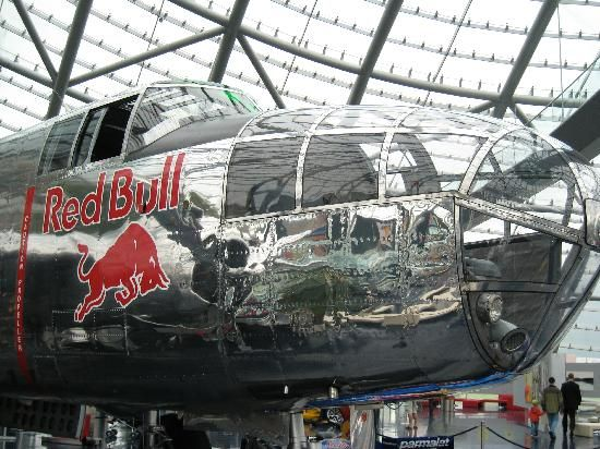 "Red Bull Hangar-7 - Salzburg AU. Fun trip for kids and grown up ""kids"" alike. Entry is free."