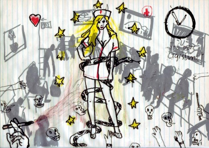 XII. ANNUNTIATIO (1984 május 21 – 27) Bűntények, árulások, revelációk. Nagyi elesik: combnyaktörés, kórházi passió. Jani fölfedezi, hogy Évi naplót ír. Kutat, talál. Közben egy rettenetes filmforgatásba is belekeveredik. A teljes összeomlás már ott kukucskál az az alagút végén... (FOLYT. KÖV.)  Mikor a Nagyi elbóbiskol, kimegyek cigizni. Egy abnormálisan tökéletes, mélyszőke ápolónő közeledik a folyosó túlsó felén lévő férfirészleg felől. Ajkbiggyesztve fixírozza a semmit és úgy riszálja…