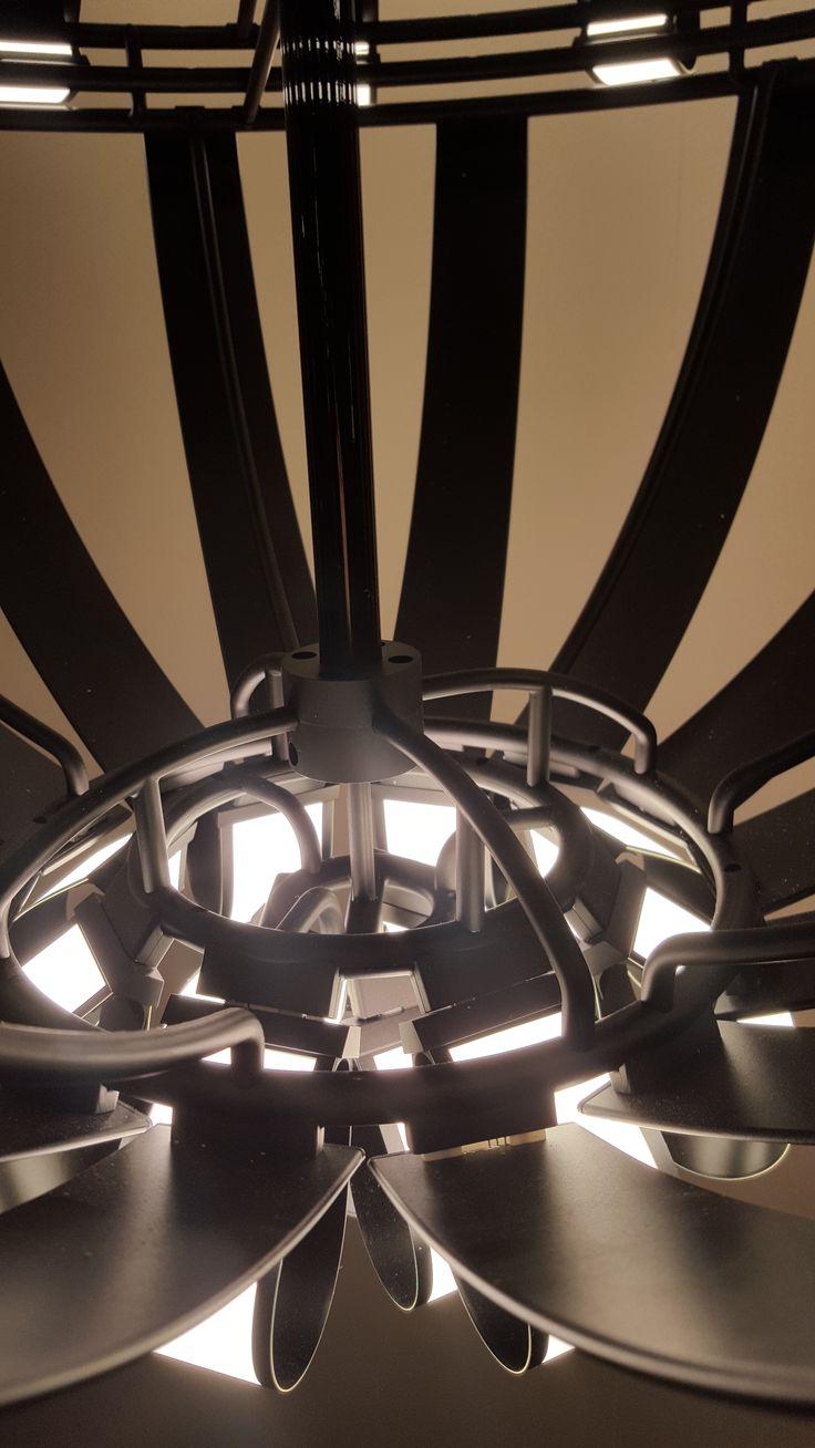 OLED Chandelier [Aluminium Structure]