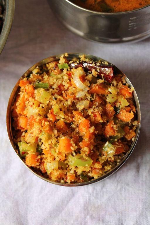 YUMMY TUMMY: Carrot & Spring Onion Thoran