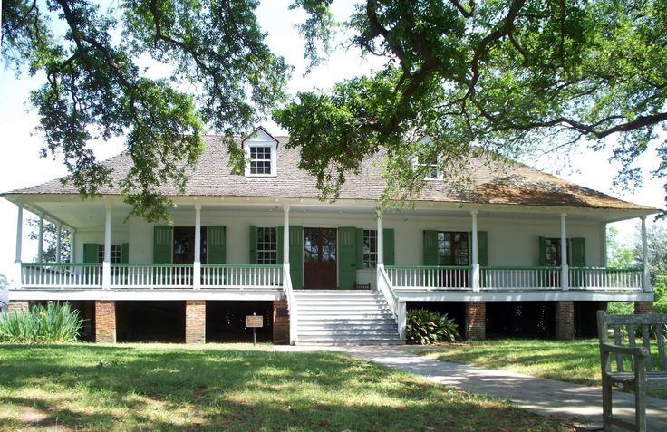Magnolia Mound Plantation | The French Creole Style, Magnolia Mound Plantation House,