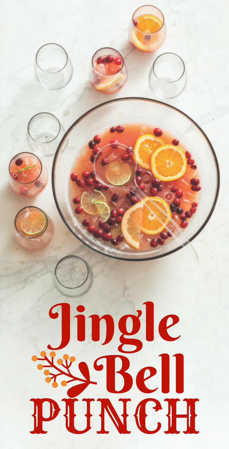 An easy, non-alcoholic holiday punch packed with cranberry and orange flavors—that you could easily spike with a generous dose of your favorite vodka!