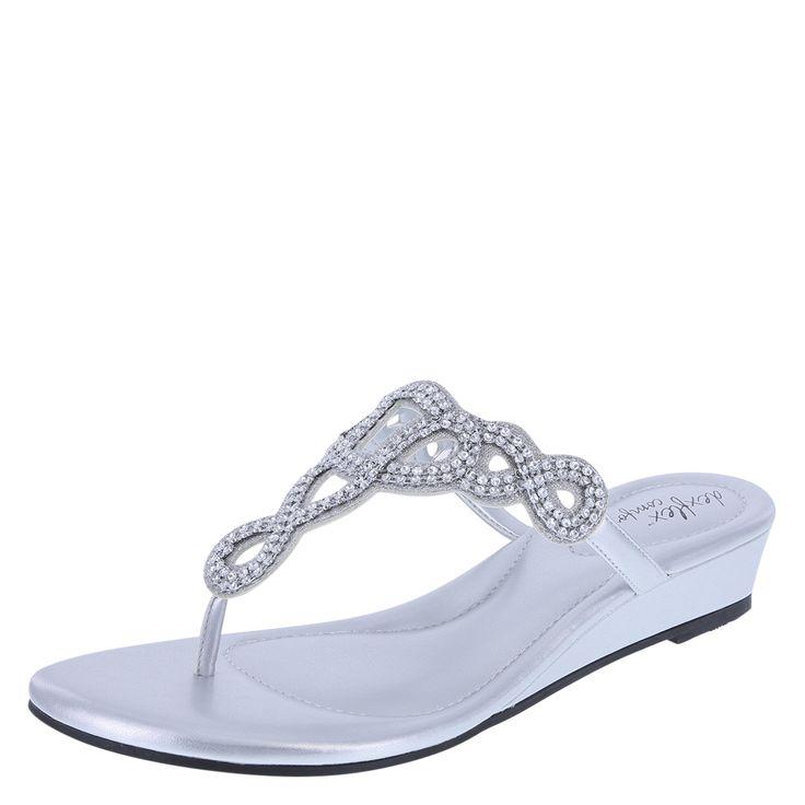 Women's Wylee Low-Wedge SandalWomen's Wylee Low-Wedge Sandal, Silver