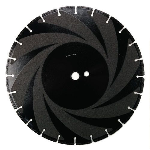 """14"""" DUCTILE IRON TURBO SEGMENT DIAMOND BLADE-LASER WELDED  This high quality Ductile Iron blade has High Turbo Segments with vacuum brazed sides to help cut through ductile pipe and cast iron pipes.  Diameter:            14""""  Seg. Width:         .125""""  Seg. Height:        8mm  Arbor Size:          1""""/20MM x DP  Application:         Ductile Pipe 