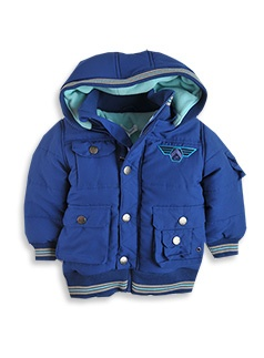 Warm jacket for a visit to the snow.  #patchholidayfun
