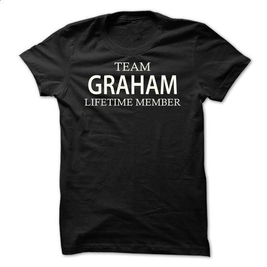Team Graham - #shirts #grey sweatshirt. SIMILAR ITEMS => https://www.sunfrog.com/Names/Team-Graham-gjhbt.html?60505