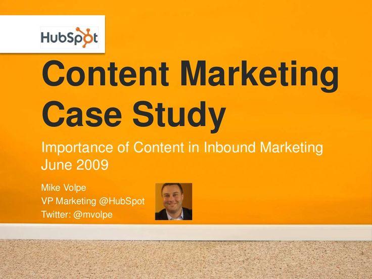 #Content #Marketing Case Study